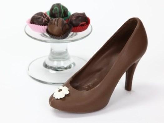 Chocolate Shoe Birthday Gift