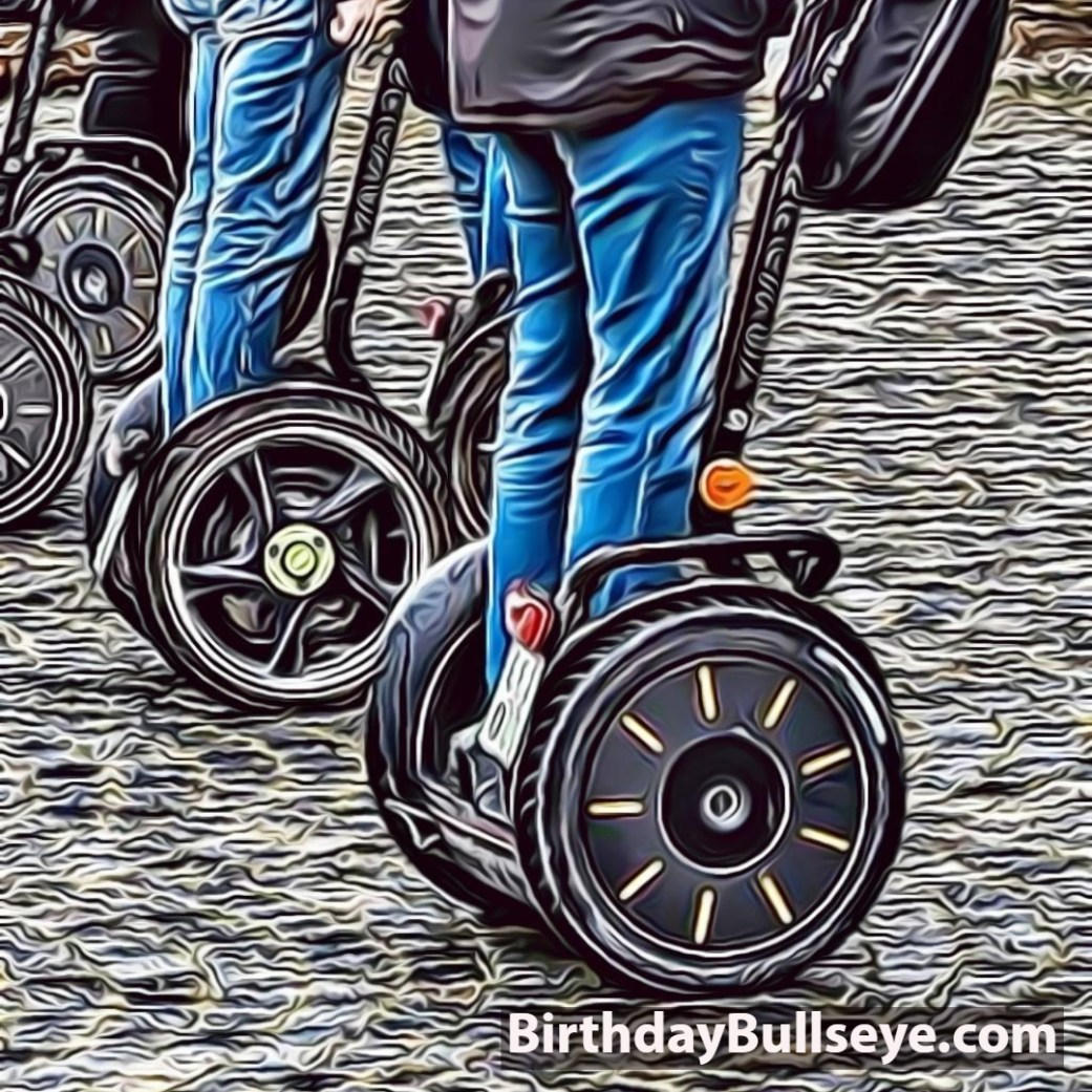 A Segway for 18th Birthday Gift