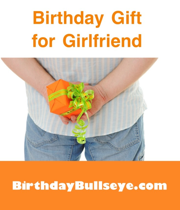 Man Holding Birthday Gift for Girlfriend