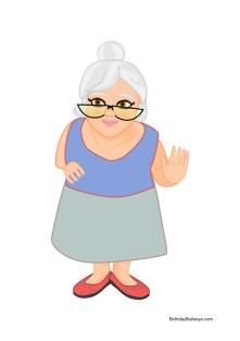 image of grandma thinking of birthday gift ideas for grandma