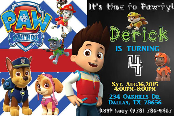 paw patrol birthday party ideas and