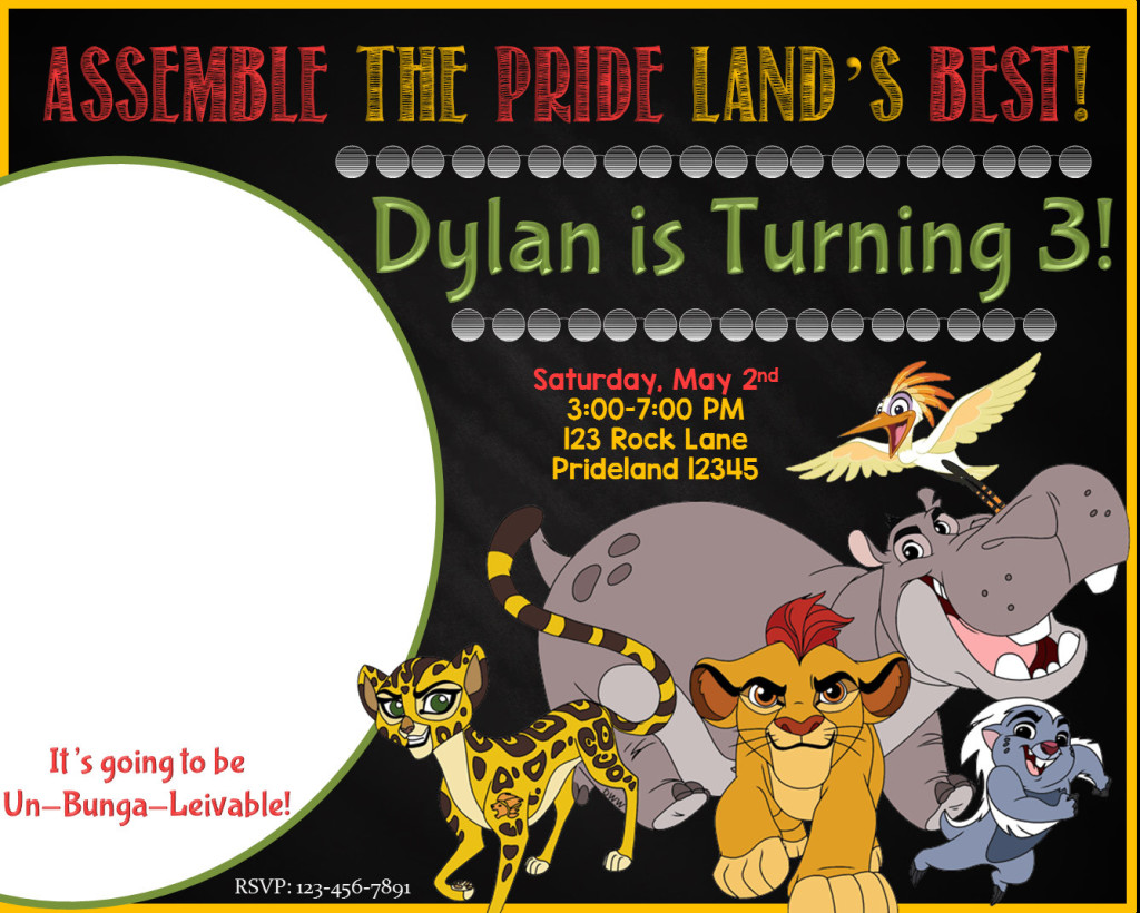 the lion guard birthday party ideas and