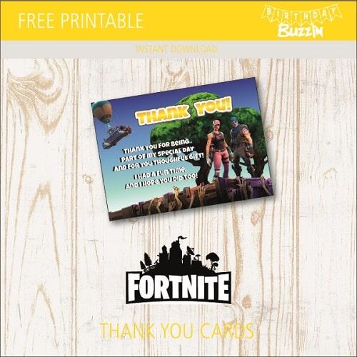 photo regarding Fortnite Logo Printable referred to as No cost Fortnite Celebration Printables