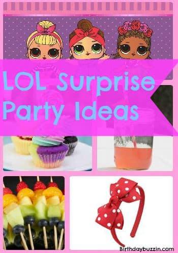 Lol Surprise Birthday Party Ideas And Supplies Birthday Buzzin