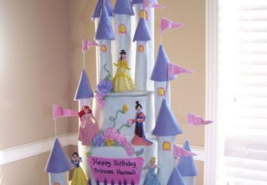 Princess 21st Birthday Cakes Princess Castle Cake Ideas