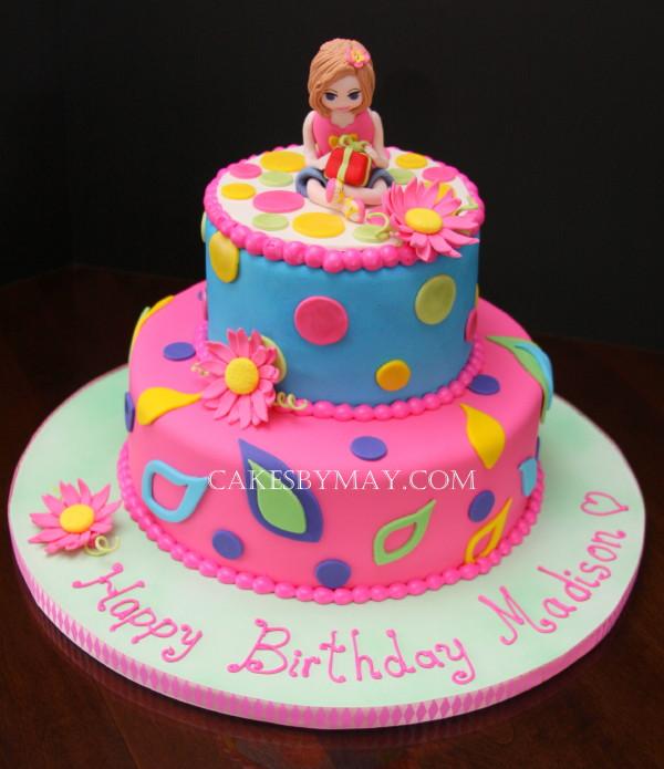 Miraculous Cake For Kid Girl The Cake Boutique Birthday Cards Printable Benkemecafe Filternl