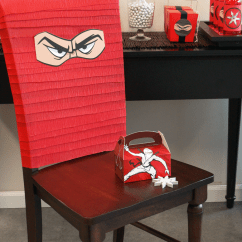 Chair Covers Long Back Kids Reading Chairs Diy Ninja Birthday Party Ideas   Express