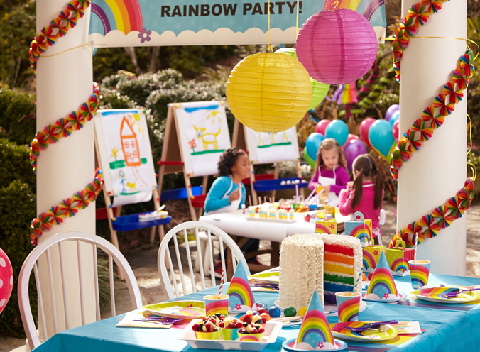 Rainbow Wishes Party Birthday Express