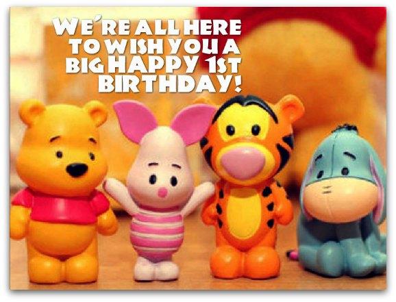 1st birthday wishes birthday