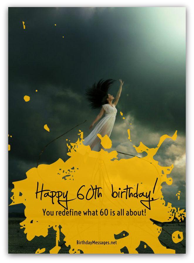 60th birthday wishes birthday