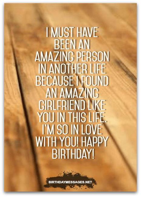 girlfriend birthday wishes romantic