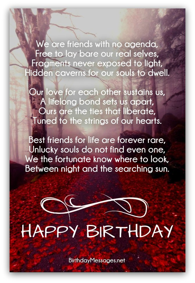 clever birthday poems clever