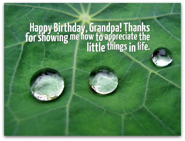 Grandpa Birthday Wishes Grandfather Birthday Messages