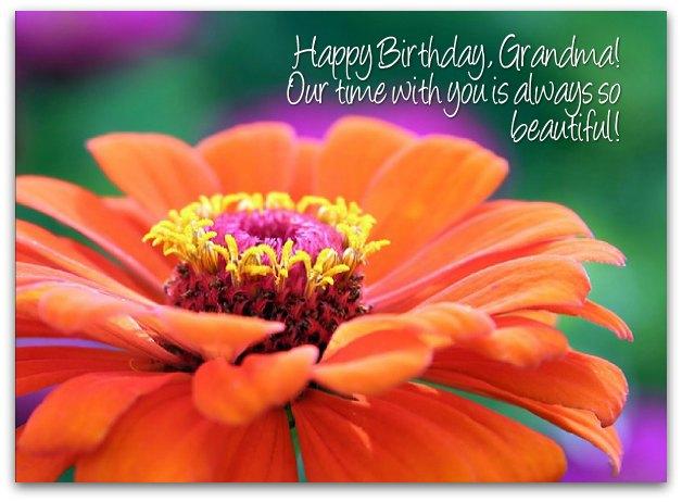 Grandma Birthday Wishes Page 2