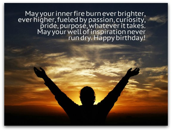 Inspirational Birthday Toasts Birthday Messages