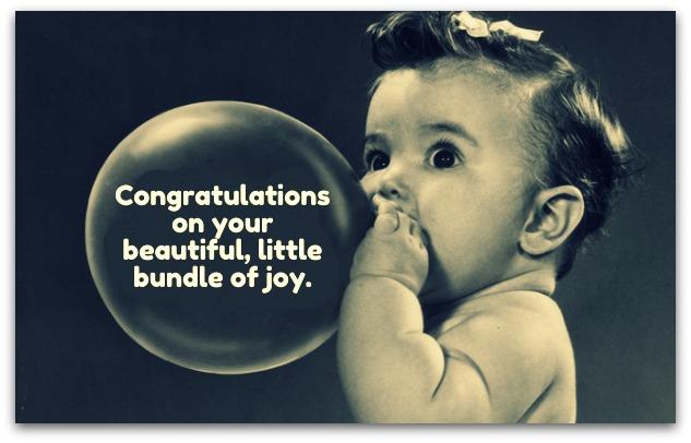 new baby wishes newborn