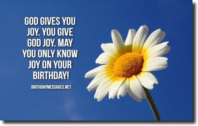 Religious Birthday Wishes 60 Religious Birthday Messages