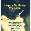 Romantic birthday wishes birthday messages for lovers