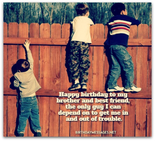 Brother Birthday Wishes Birthday Messages For Brothers