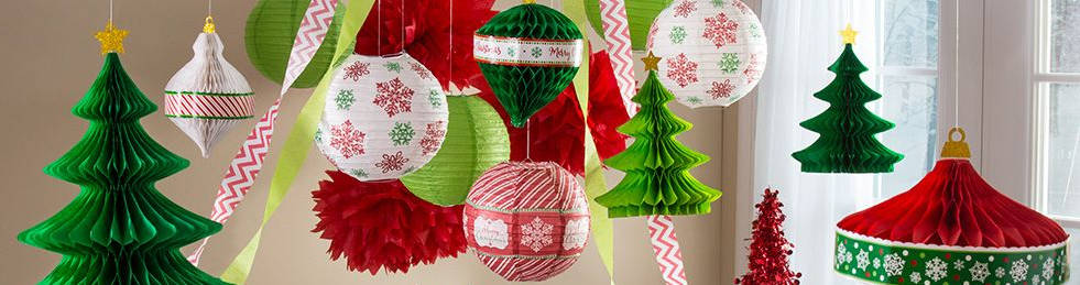 christmas theme party bunting