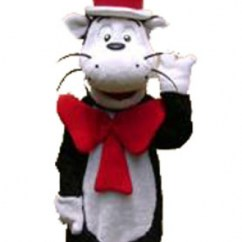 Kids Character Chairs Nice Dining Room Chair Covers Dr Seuss The Cat In Hat - Birthday Party Characters For Parties