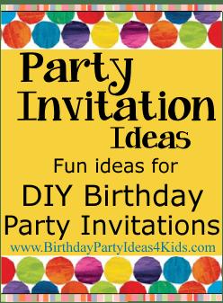 birthday party invitation ideas for tweens Cogimbous