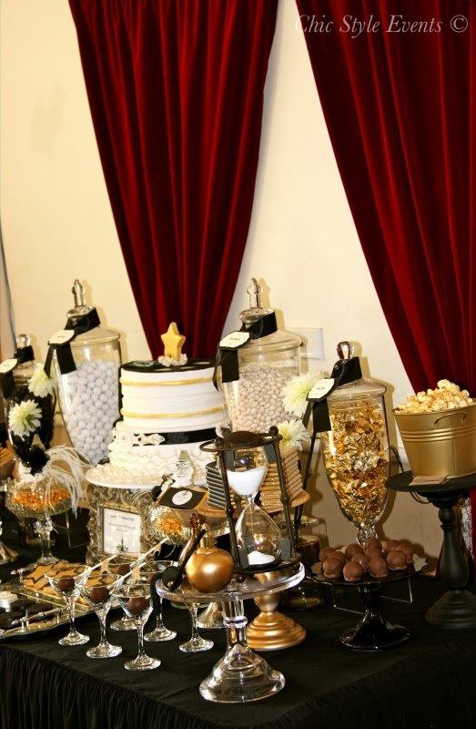 40th Hollywood Glam Party  Birthday Party Ideas  Themes