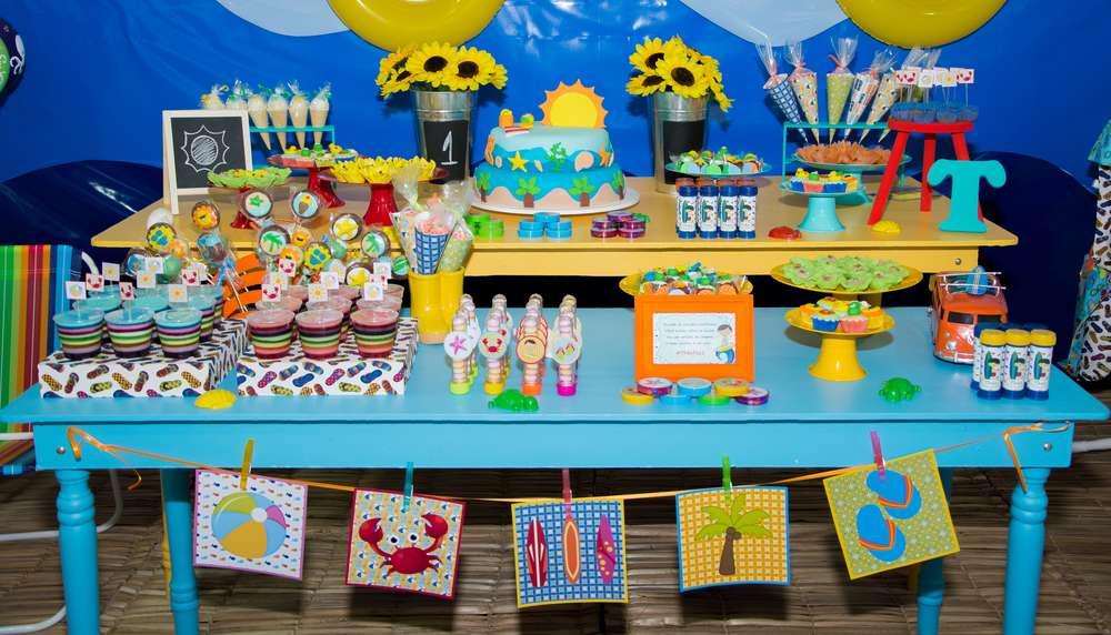 Beach Birthday Party Birthday Party Ideas Amp Themes