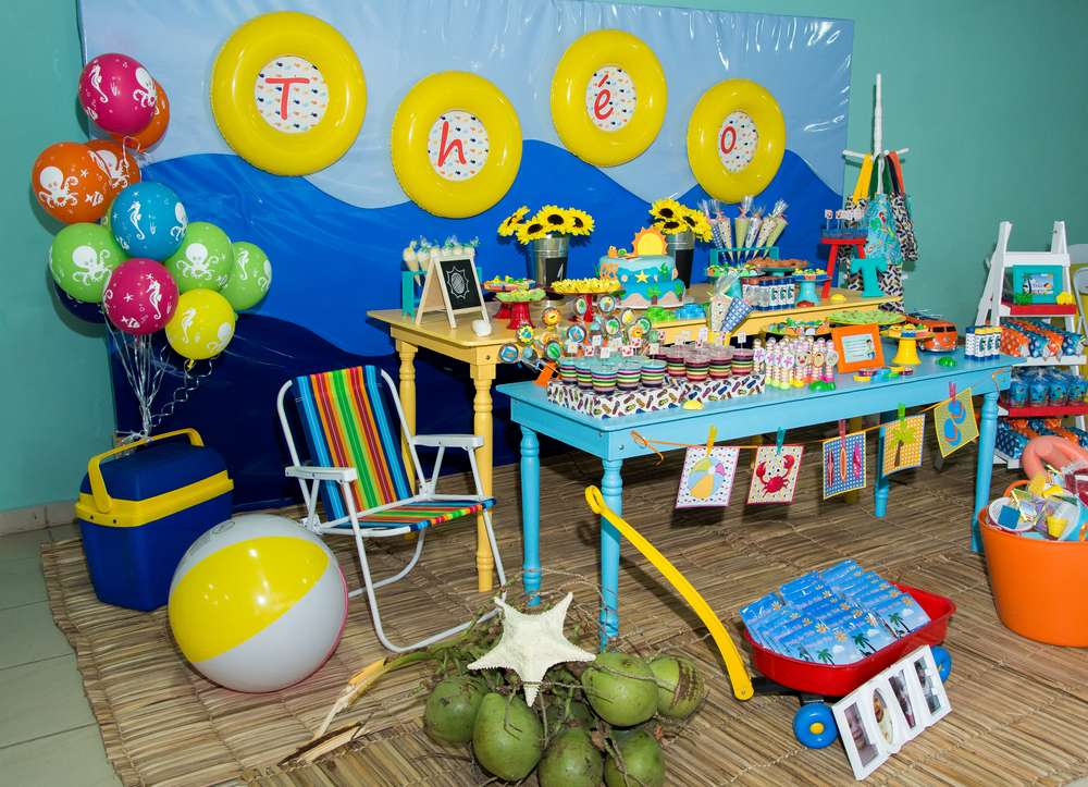 Beach Birthday Party Birthday Party Ideas Amp Themes