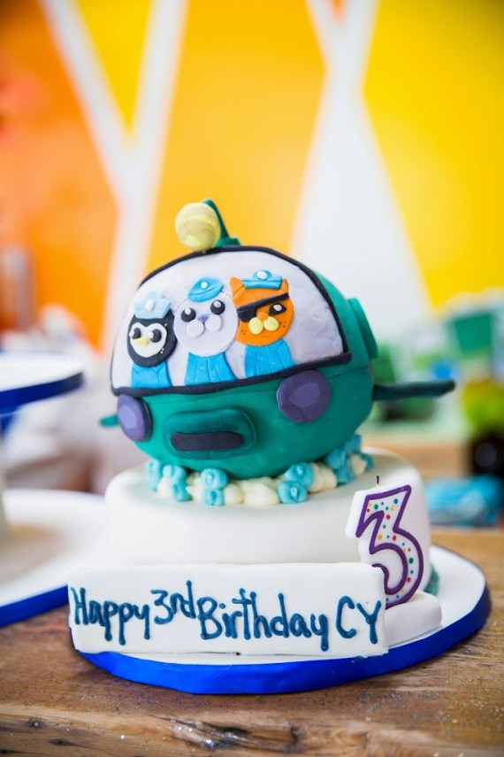 Bright And Chic Octonauts Birthday Party Birthday Party