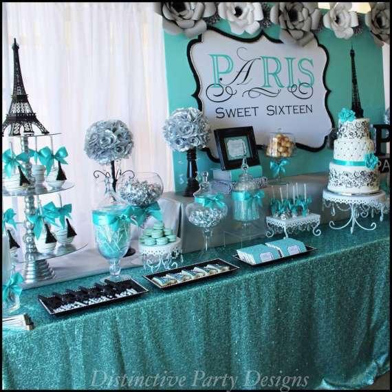 Sweet Sixteen Paris Style Birthday - Birthday Party Ideas ...  Sweet Sixteen P...