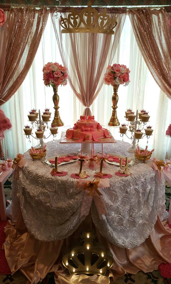 Pretty Pink Princess Birthday Party Birthday Party Ideas