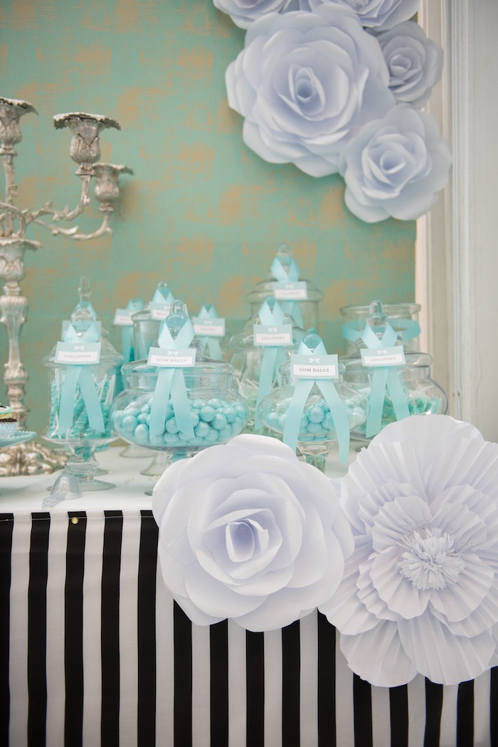 White Pool Party Decorations