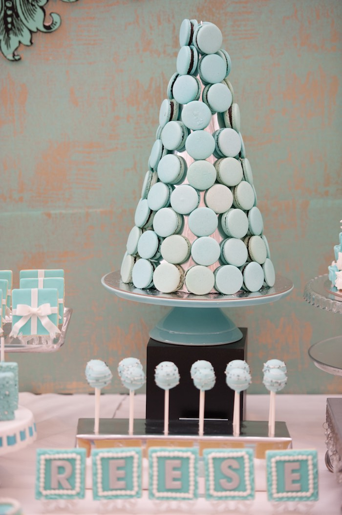 Modern Breakfast At Tiffany S Inspired Birthday Party