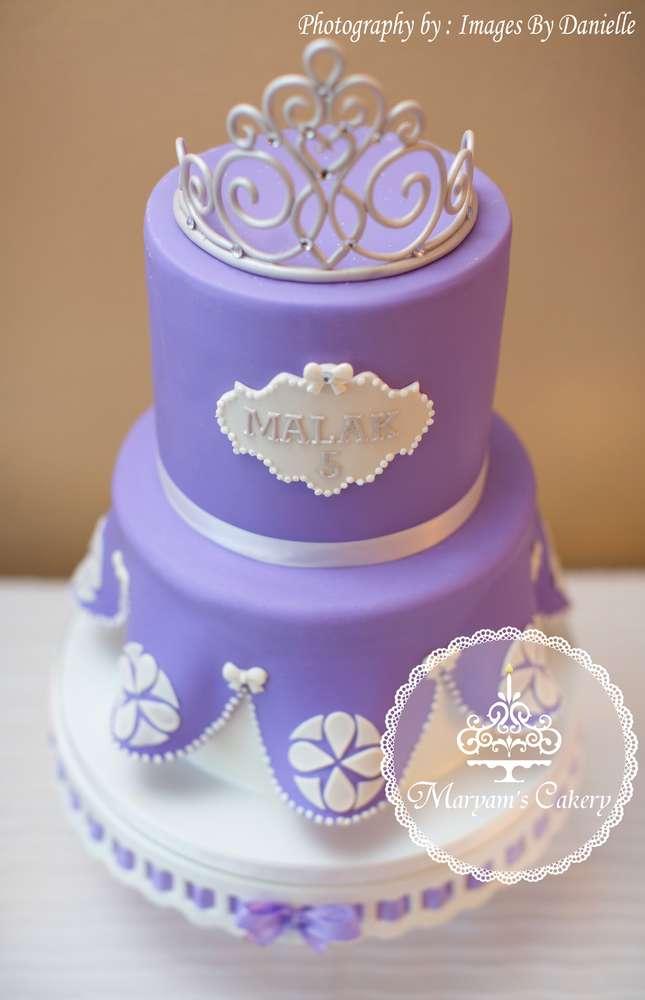 Purple And White Sophia Birthday Party Birthday Party