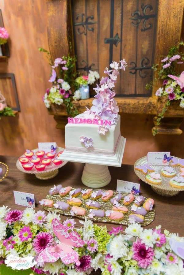 Enchanted Garden Birthday Party Birthday Party Ideas