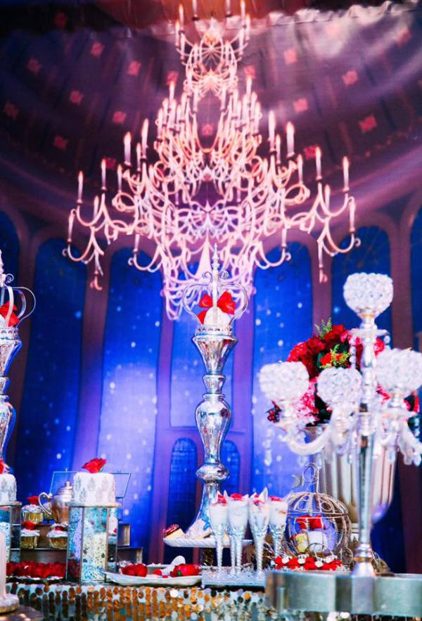 Golden Beauty And The Beast Birthday  Birthday Party Ideas  Themes