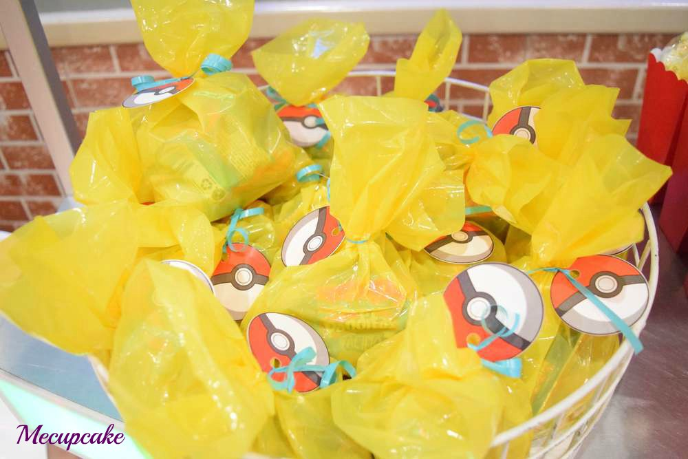 Radiant Pokemon Birthday Party Gift Bags