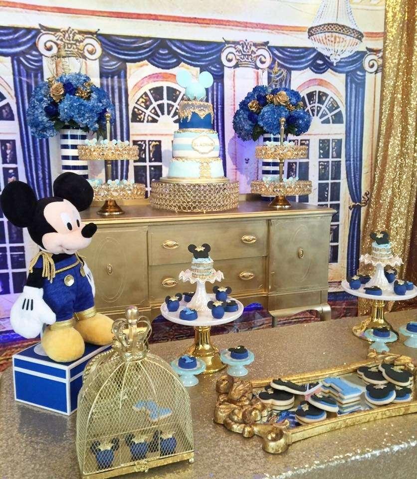 Royal Mickey Mouse Birthday Party Extravaganza - Birthday ...