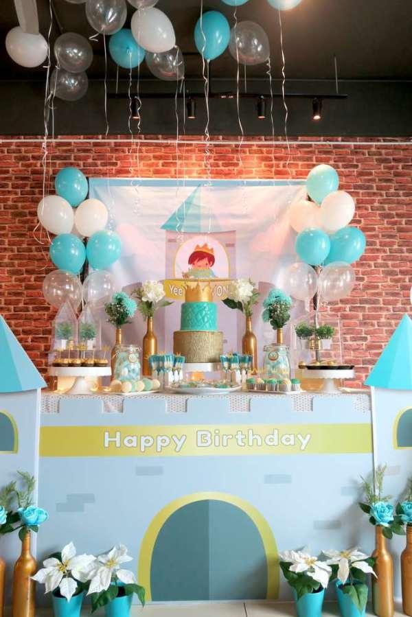 Royal Tiffany Inspired Blue and Gold Birthday  Birthday Party Ideas  Themes