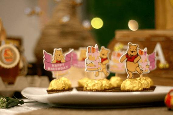 Winnie The Pooh Bear Birthday Party Birthday Party Ideas