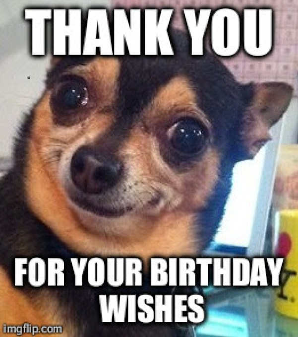 Thank You For The Birthday Wishes Meme