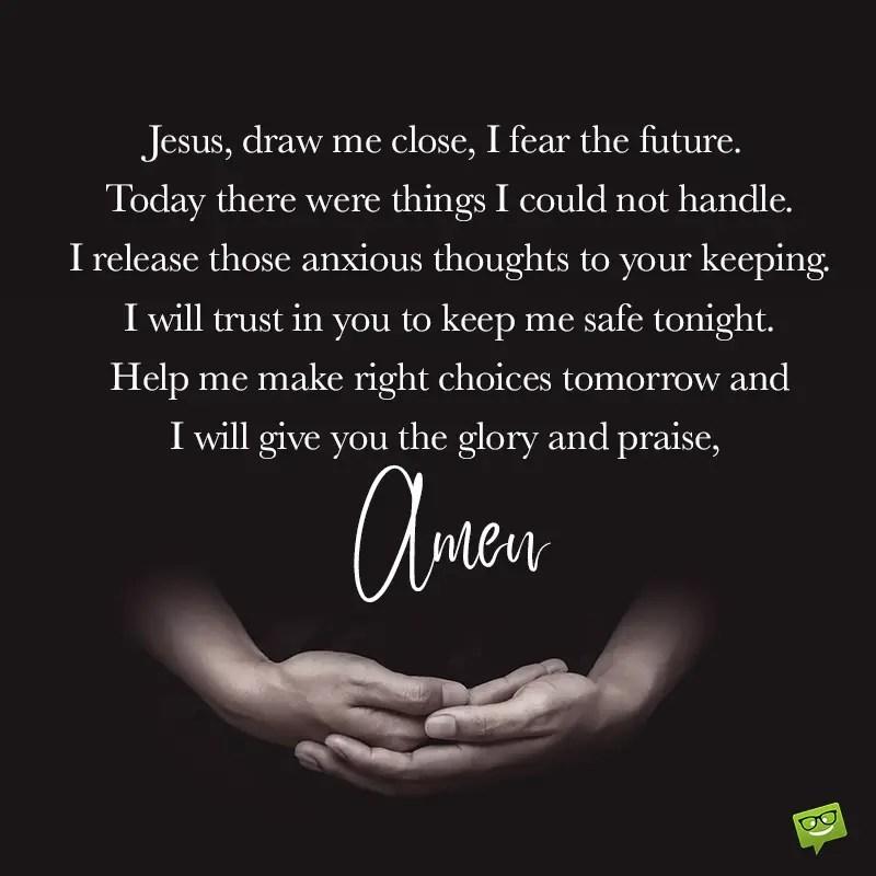 Good Night Prayers   Thankfulness Before Sleep