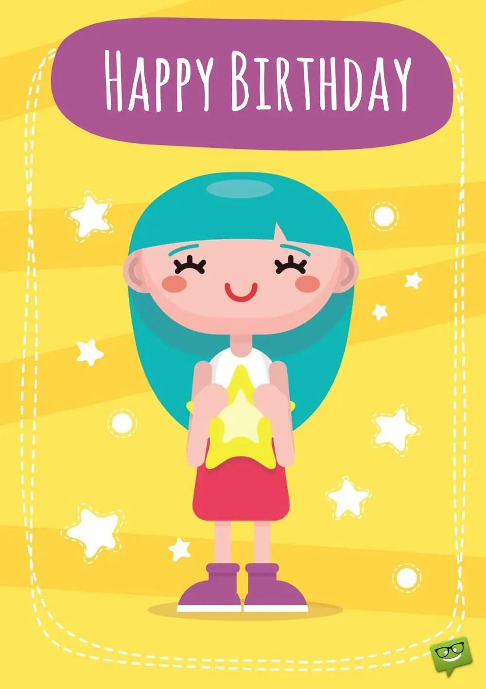 Kids Birthday Wishes Happy Children On Their Special Day