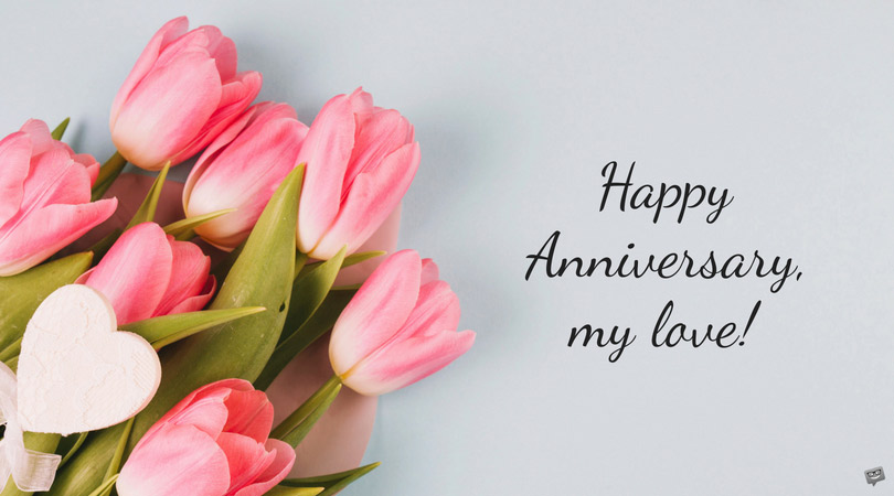 anniversary wishes from wedding