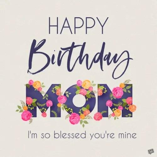Happy Birthday Mom Paragraphs