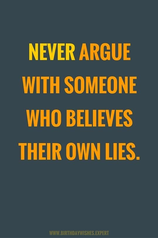 Quotes Karma Liars And About