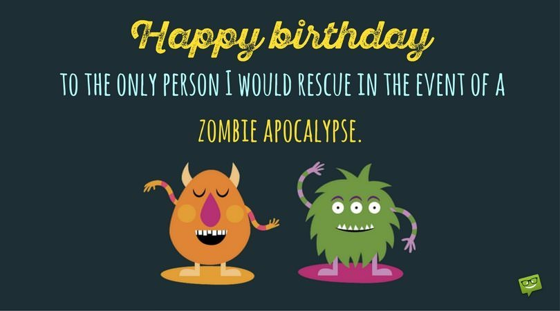 a funny birthday wishes