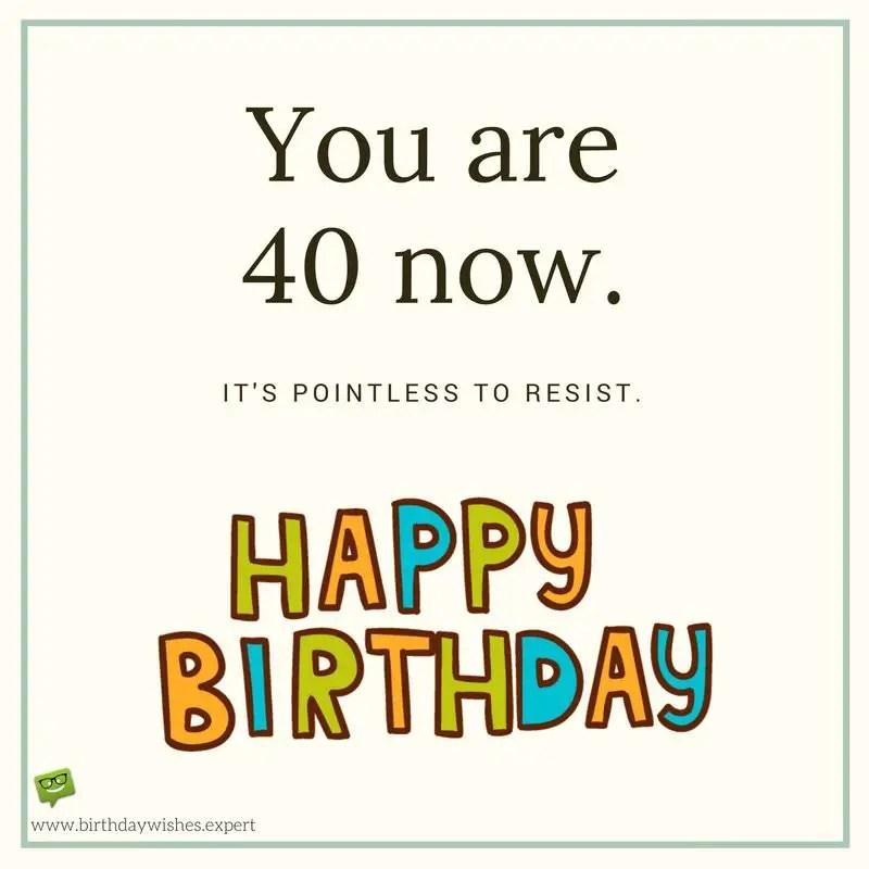 84 40th birthday wishes