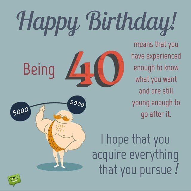 Happy Birthday Son 40th Birthday